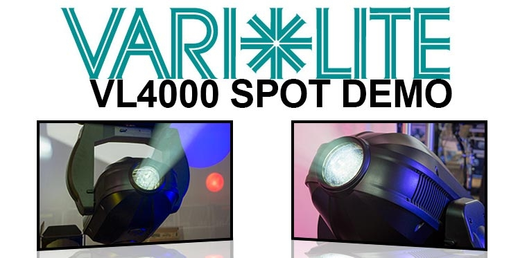 Up Close & Personal with the Vari-Lite VL4000 Spot ...