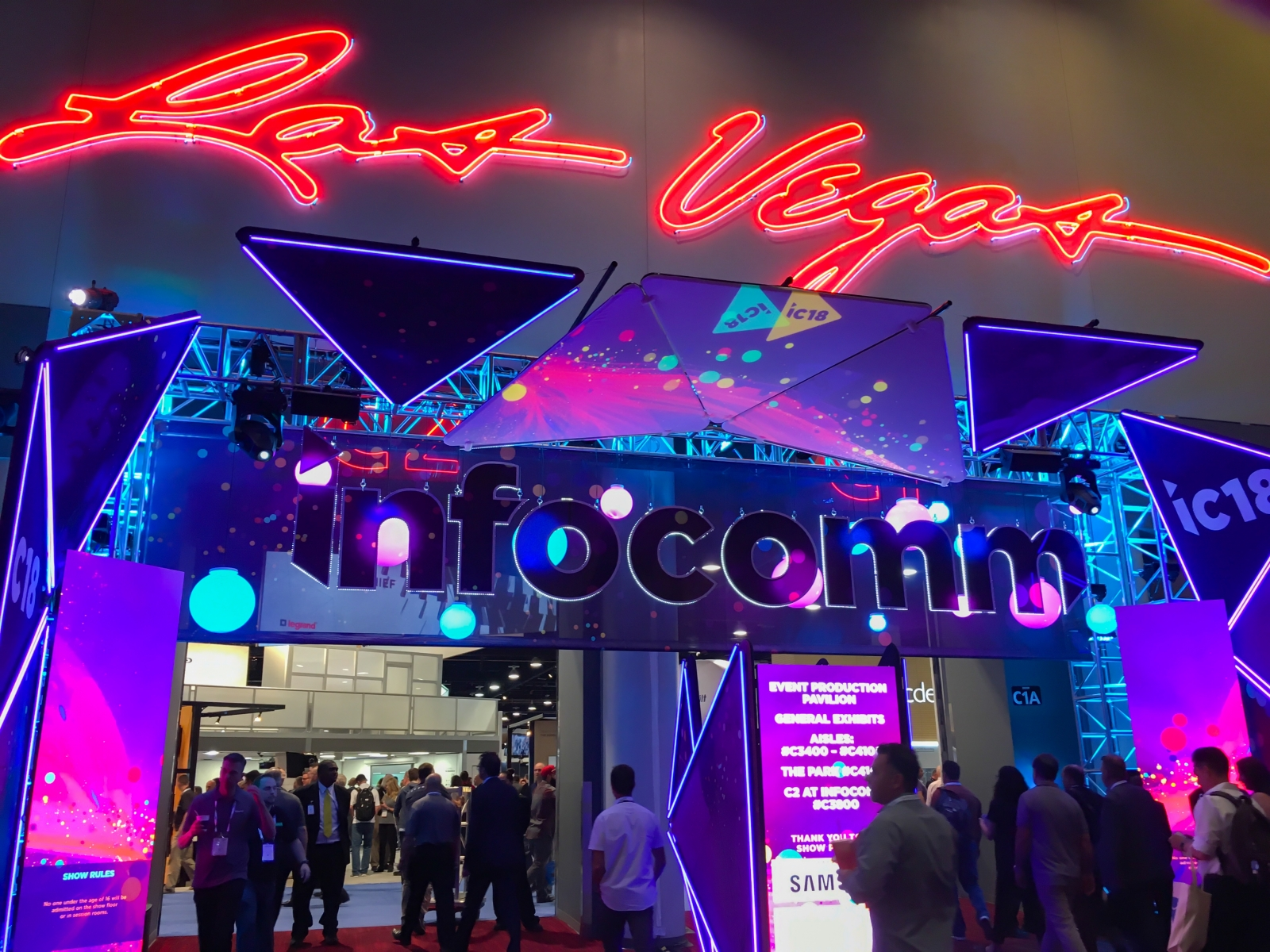 Las Vegas, Nv Infocomm Returned To Las Vegas This Year
