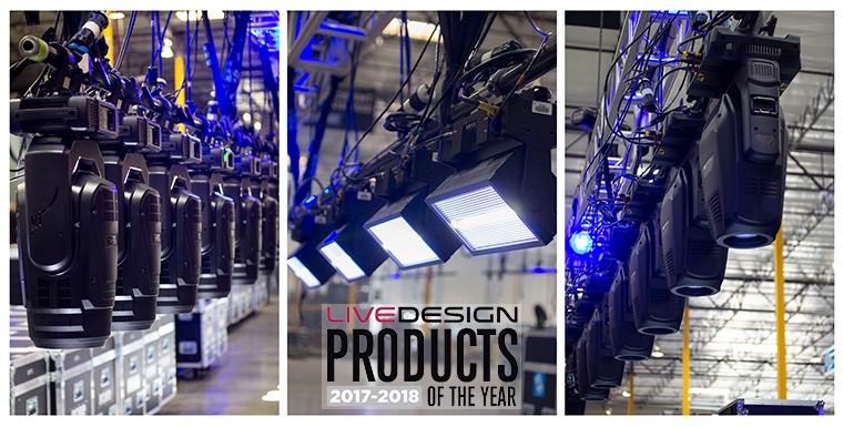 Live Design Announces 2017-18 Lighting Products Of The Year