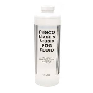 NEW Rosco Stage & Studio Fog Fluid 1 Liter (Case of 4)