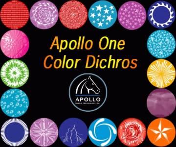 NEW Apollo Standard One Color Dichros, B Size