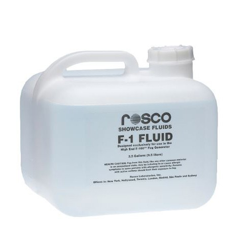 NEW Rosco F-1 Fog Fluid 2.5 gallon