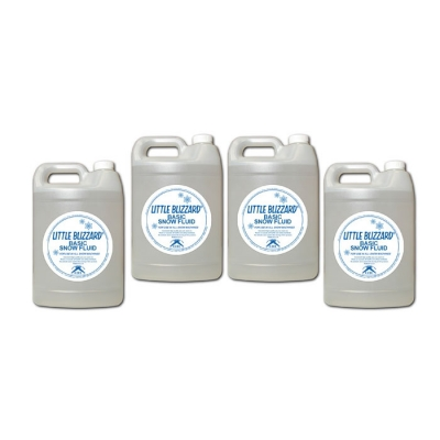 NEW CITC Little Blizzard Basic Snow Fluid 1 gal. (Case of 4)