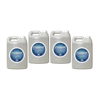 NEW CITC Little Blizzard Super Extra Dry Snow Fluid 1 gal. (Case of 4)