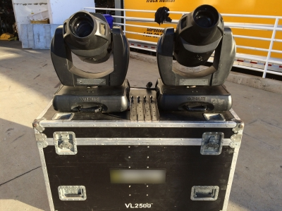 Vari-Lite VL2500 Spot (Package of 2 with case)