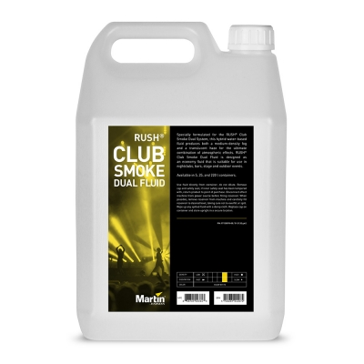 NEW Martin RUSH Club Smoke Dual Fluid 4x5L