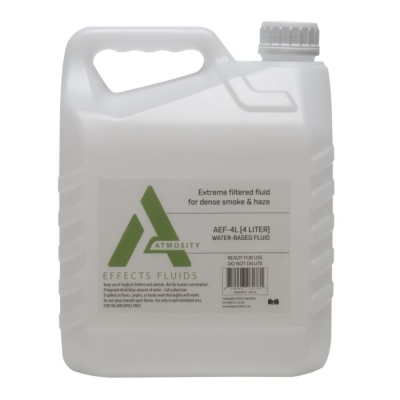 NEW Elation Atmosity AEF-4L Extreme Filtrated Fog Fluid, 4 Liter