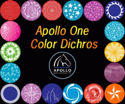 NEW Apollo Standard One Color Dichroics, B Size