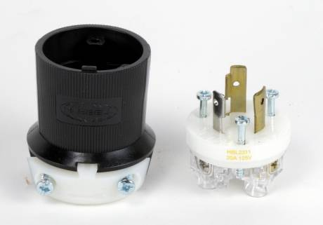 NEW Hubbell L5-20 Male Connector