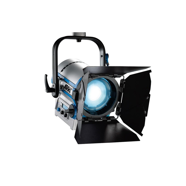 NEW Arri L5-C LED Fresnel Hanging Model, Blue-Silver, 5'; Cable Bare Ends