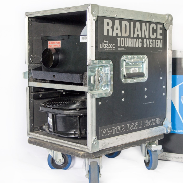 Ultratec Radiance Hazer Touring System