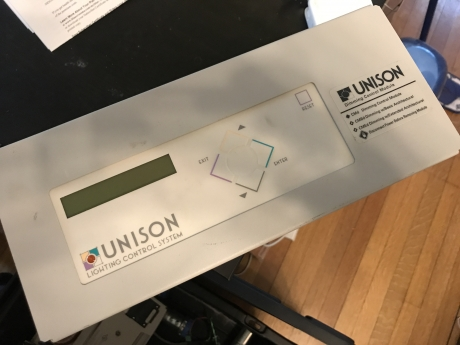 Etc Unison dimmer rack manual