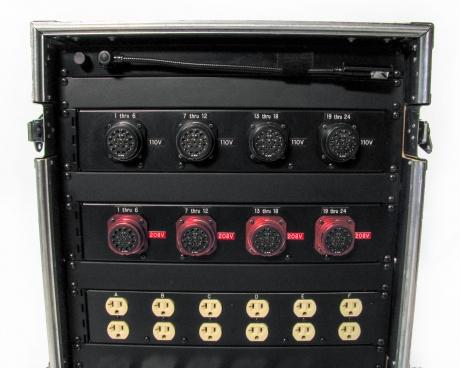 Leprecon 24-Way 110V/208V Distro