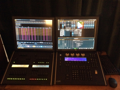 ETC Ion 3000 Console & 2x20 Fader Wing Package