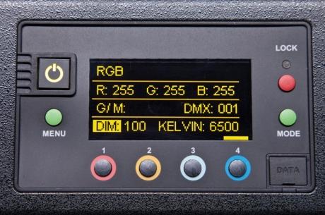 NEW Kino Flo Celeb 450Q LED DMX, Yoke Mount