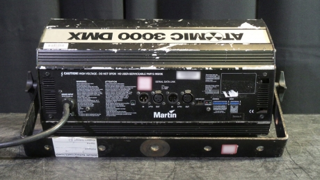 Martin Atomic 3000 DMX Strobe 208V (Pkg of 8)