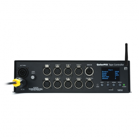 NEW City Theatrical QolorPIX Tape Controller, Eight Output