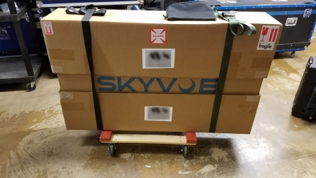"Skyvue COBX5572 55"" Outdoor LED Display"
