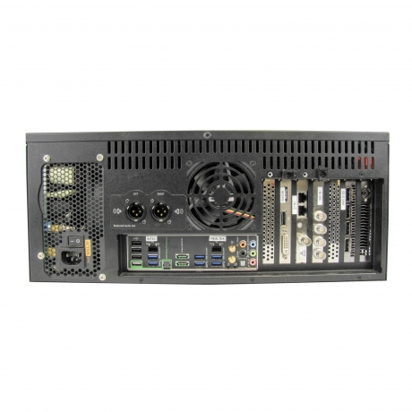 Barco XHD-404 Media Server, Watchout Capable (4in/4out)