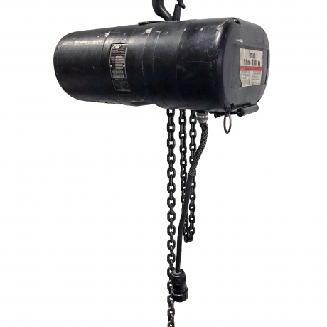 CM Hoist 1 Ton, 95' Chain Lift