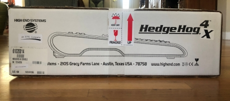 High End Systems HedgeHog 4X Console