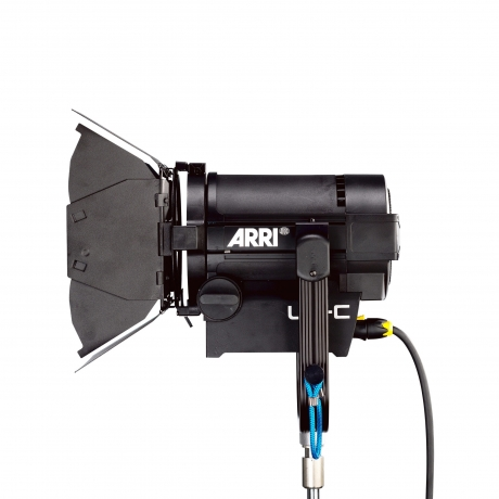 NEW Arri L5-C LED Fresnel Pole Operated, Black, 5'; Cable Bare Ends