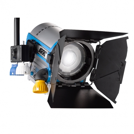 NEW Arri L5-C LED Fresnel Pole Operated, Blue-Silver, 5'; Cable Bare Ends