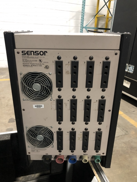 ETC Sensor 12x6kW Stage Pin Dimmer