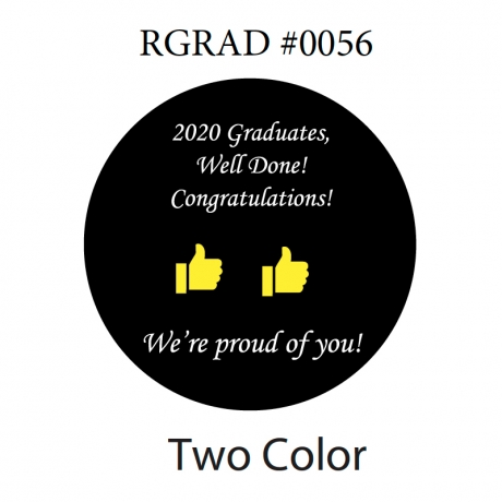 NEW Rosco 2020 Graduation Gobo, Two Color Glass