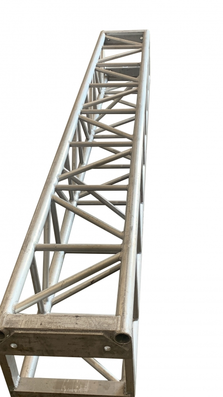 "Total Structures Truss 16"" x 10' Silver"