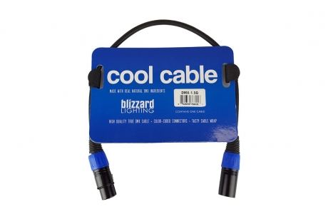 NEW Blizzard 1.5ft 3-Pin DMX Cable (Pkg of 10)