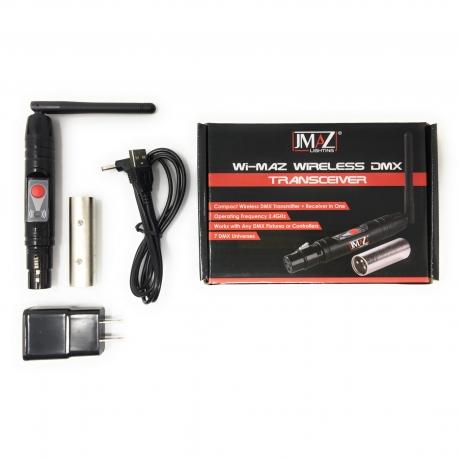 NEW JMAZ Lighting Wi-MAZ Wireless DMX Transceiver