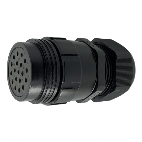 NEW Ceep 19-Pin Connector - Female, 22-32mm, Leading Earth Contacts