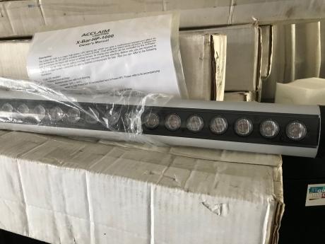 Acclaim X-BAR-HP-1000-WL-RGB Tube