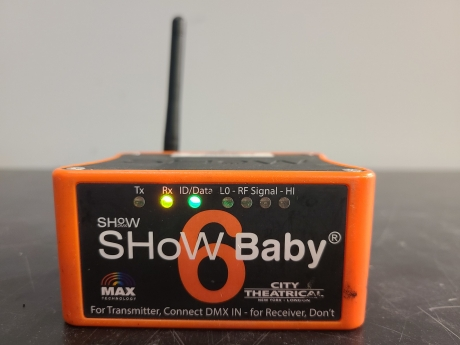 City Theatrical SHoW Baby 6 Transceiver (Pkg of 4)