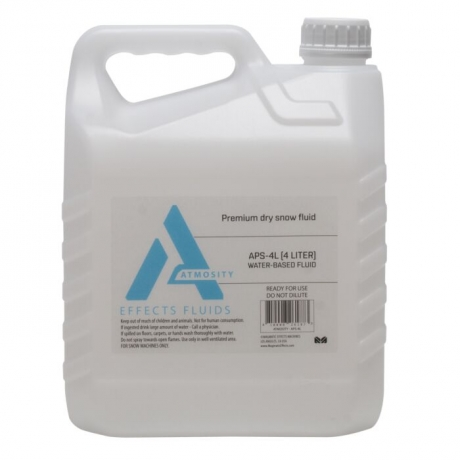 NEW Elation Atmosity APS-4L Premium Dry Snow Fluid, 4 Liter