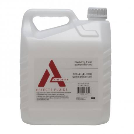 NEW Elation Atmosity AFF-4L Quick Dissolving Fog Fluid, 4 Liter