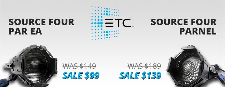 ETC Source Four PARs