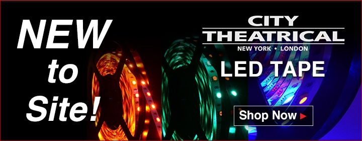 City Theatrical LED Tape