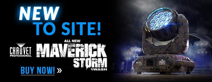 New to Site - Chauvet Maverick Storm 1Wash