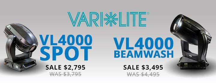 Vari-Lite VL4000 Spot & BeamWash