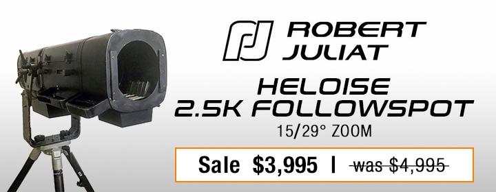 Robert Juliat Heloise 2.5K Followspot